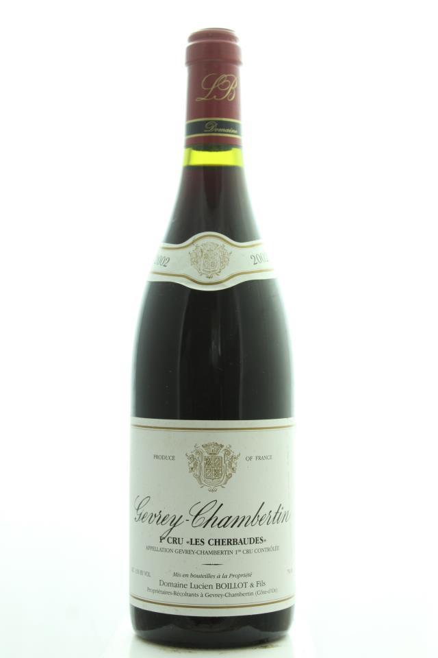 Lucien Boillot Gevrey-Chambertin Les Cherbaudes 2002