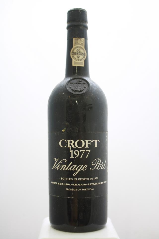 Croft Vintage Port 1977