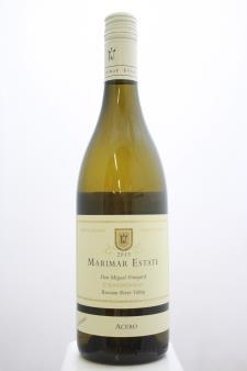 Marimar Estate Chardonnay Don Miguel Vineyard Acero 2013