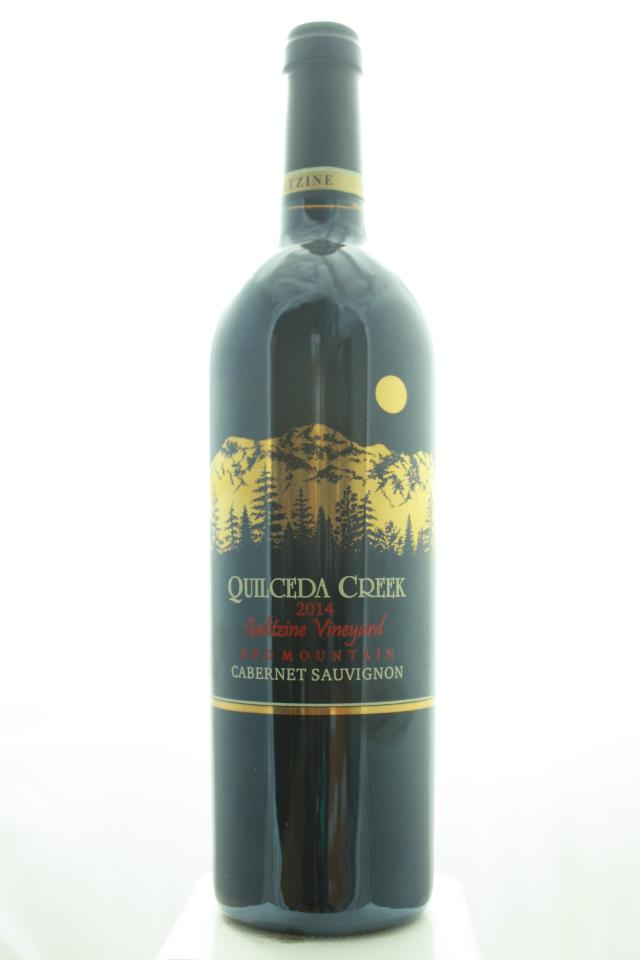 Quilceda Creek Cabernet Sauvignon Galitzine Vineyard 2014