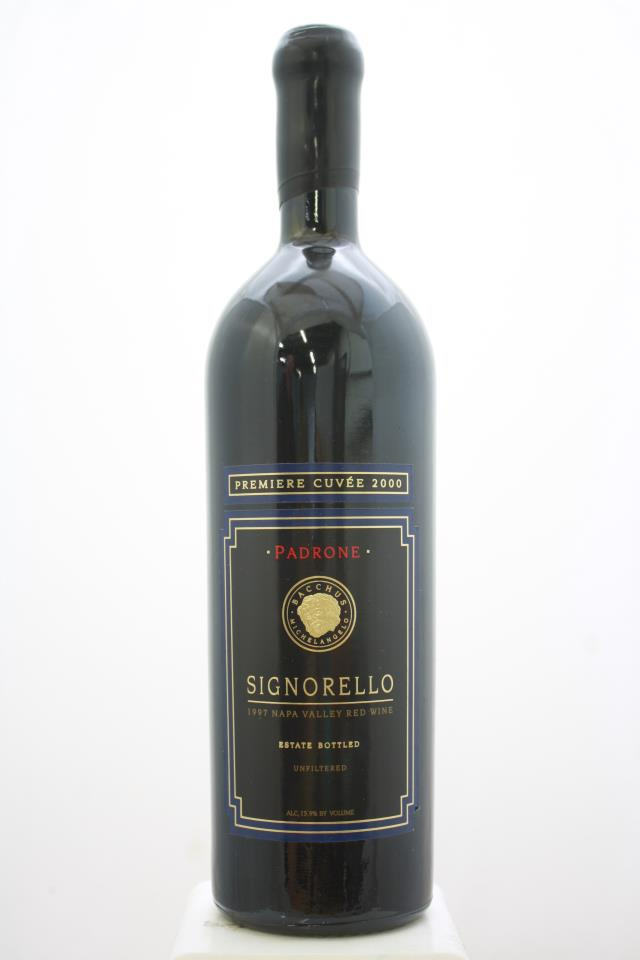 Signorello Vineyards Cabernet Sauvignon Padrone Premiere Cuvée 2000