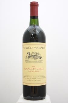 Duckhorn Merlot Vine Hill Ranch 1990