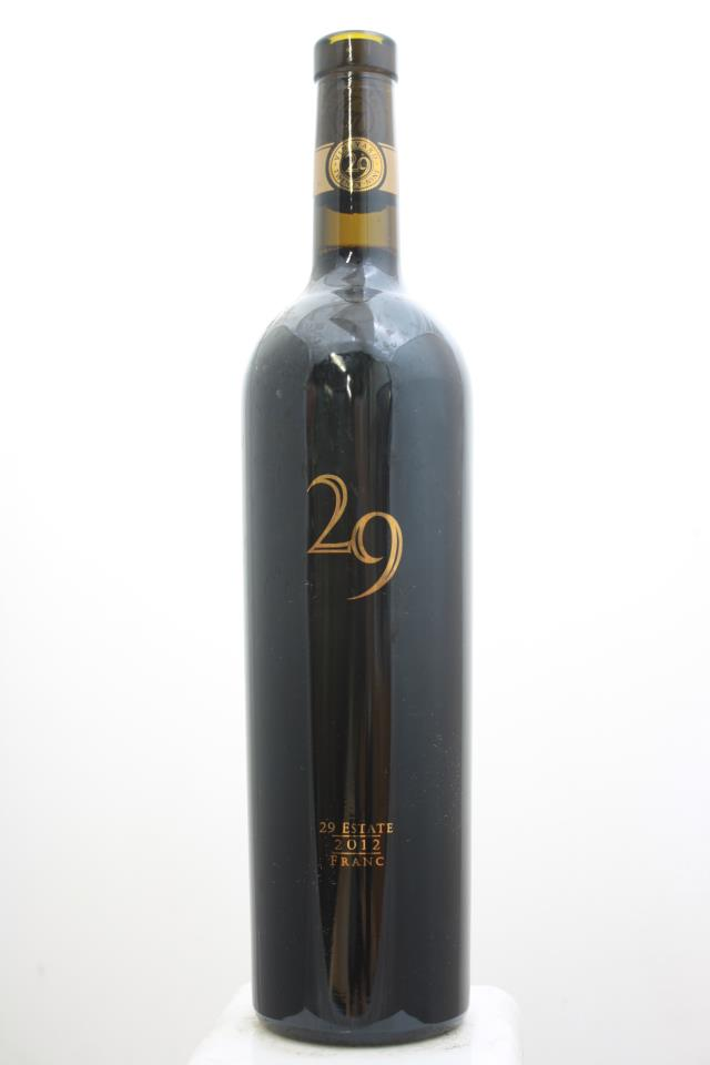 Vineyard 29 Cabernet Franc 29 Estate 2012