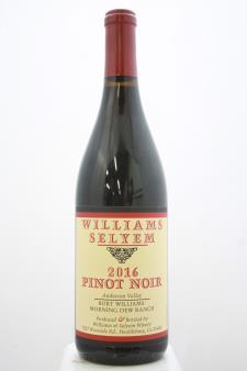 Williams Selyem Pinot Noir Burt Williams