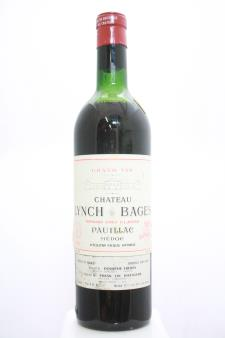 Lynch-Bages 1962