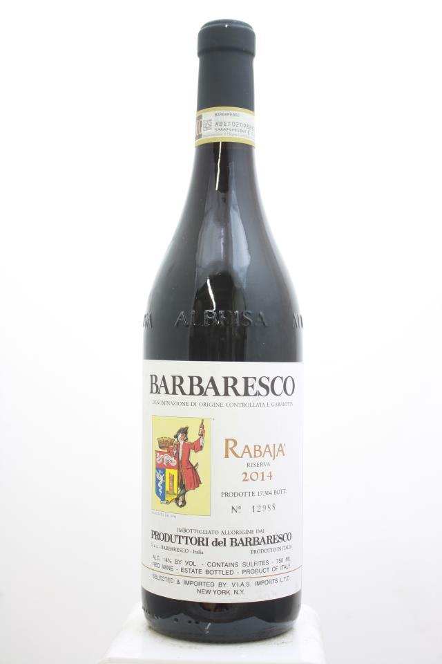 Produttori del Barbaresco Barbaresco Riserva Rabaja 2014