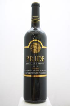 Pride Mountain Vineyards Merlot Sonoma County / Napa County 2008
