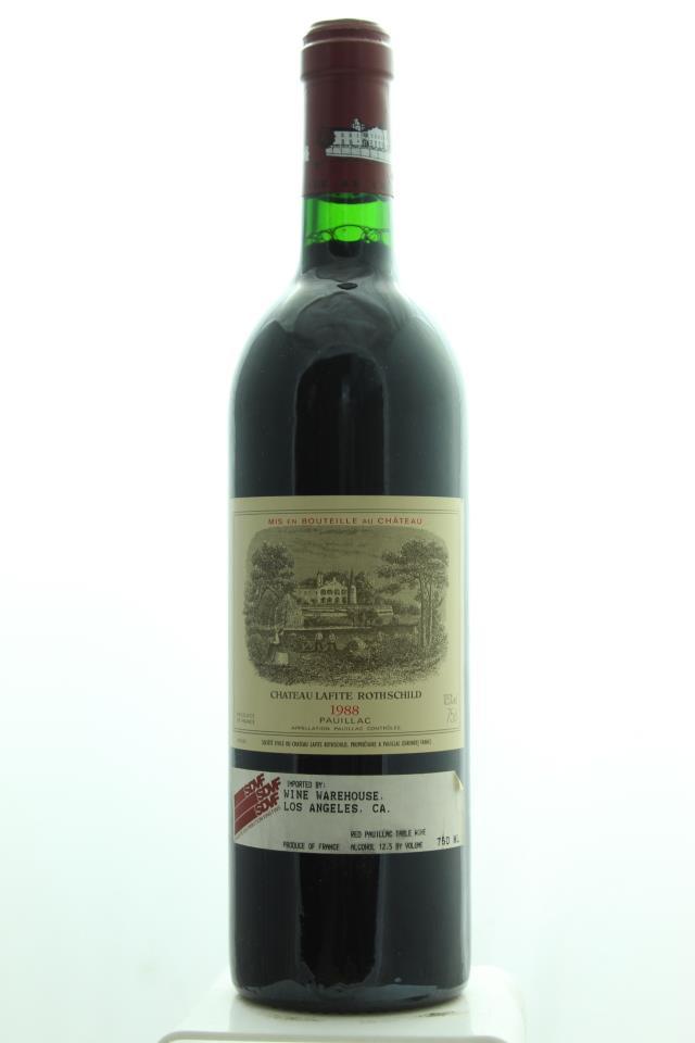 Lafite Rothschild 1988