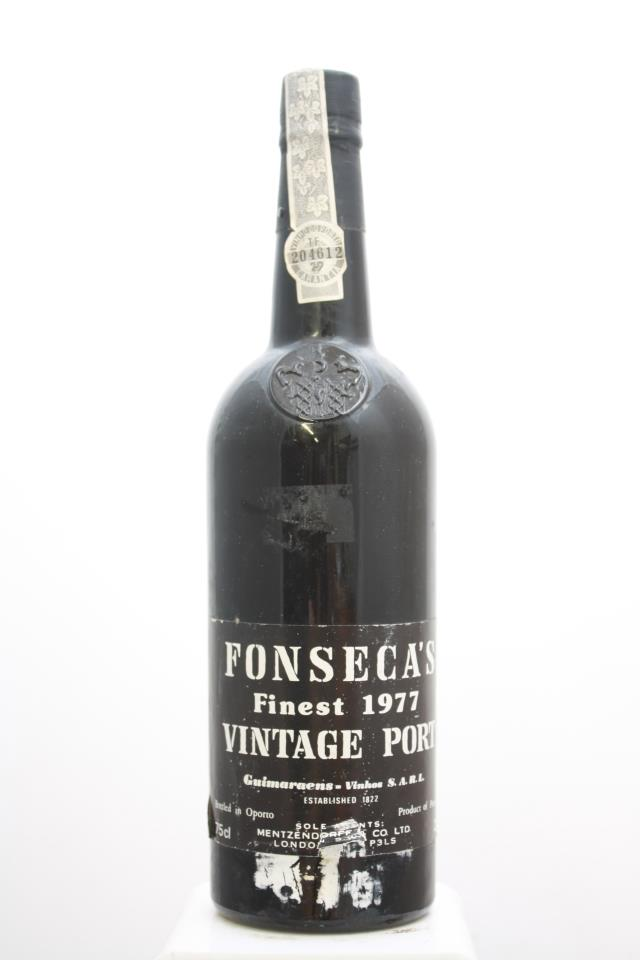 Fonseca's Vintage Porto 1977