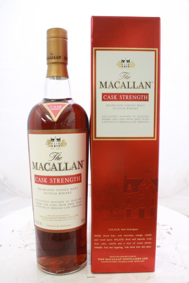 The Macallan Highland Single Malt Scotch Whisky Cask Strength NV