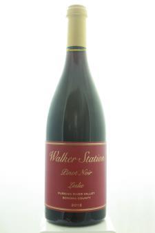 Walker Station Vineyards Pinot Noir Leslie 2012