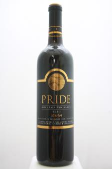 Pride Mountain Vineyards Merlot Sonoma County / Napa County 2003
