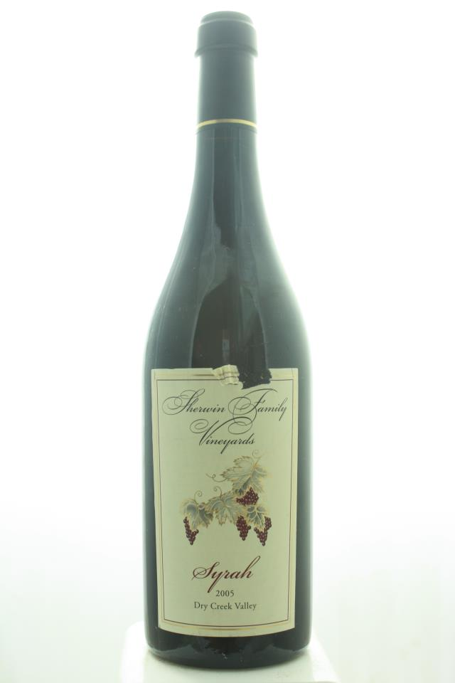 Sherwin Family Syrah Dry Creek 2005