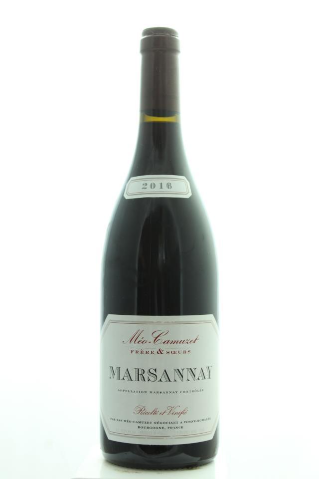Méo-Camuzet Frère & Sœurs Marsannay 2016