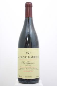 Burguet Gevrey-Chambertin Mes Favorites Vieilles Vignes 2002