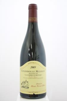 Perrot Minot Chambolle-Musigny La Combe d`Orveau 2005