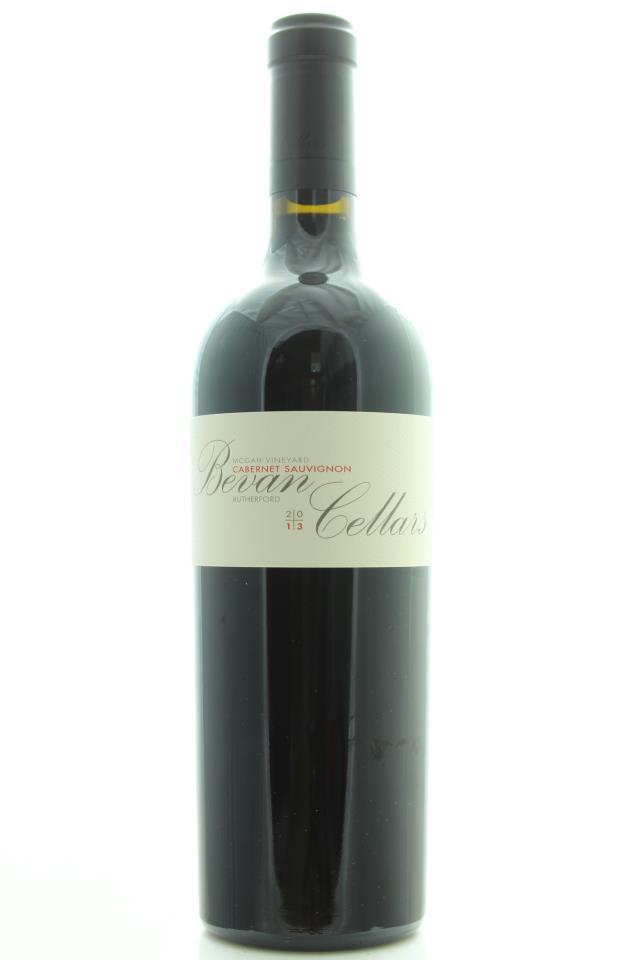 Bevan Cellars Cabernet Sauvignon McGah Vineyard 2013