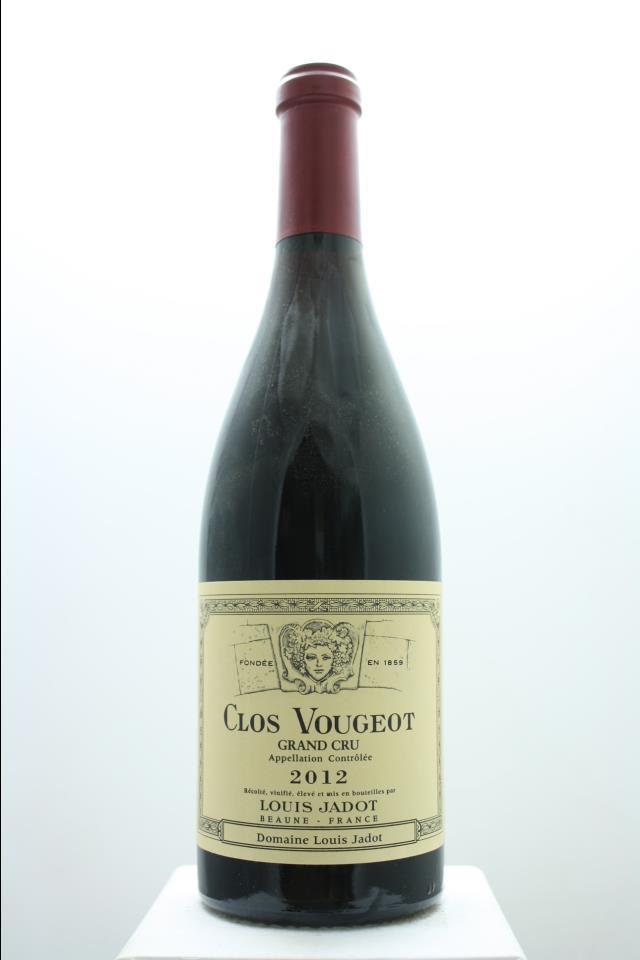 Louis Jadot (Domaine Louis Jadot) Clos de Vougeot 2012