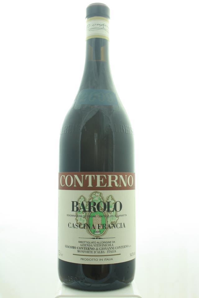 Giacomo Conterno Barolo Cascina Francia 2009