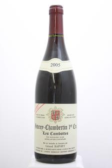 Gerard Raphet Gevrey-Chambertin Les Combottes Cuvée Unique 2005