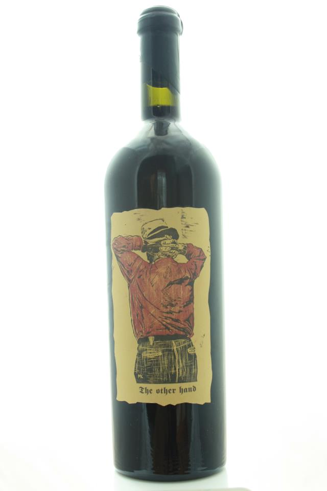 Sine Qua Non Syrah The Other Hand 1995