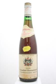 Meyerhof Graacher Himmelreich Riesling Trockenbeerenauslese 1969
