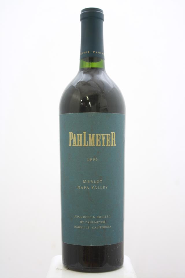 Pahlmeyer Merlot 1996