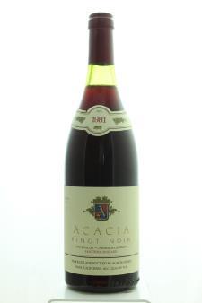 Acacia Pinot Noir Madonna Vineyard 1981