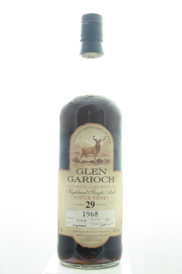 Glen Garioch Highland Single Malt Scotch Whiskey Individual Cask Bottling 29-Years-Old 1968