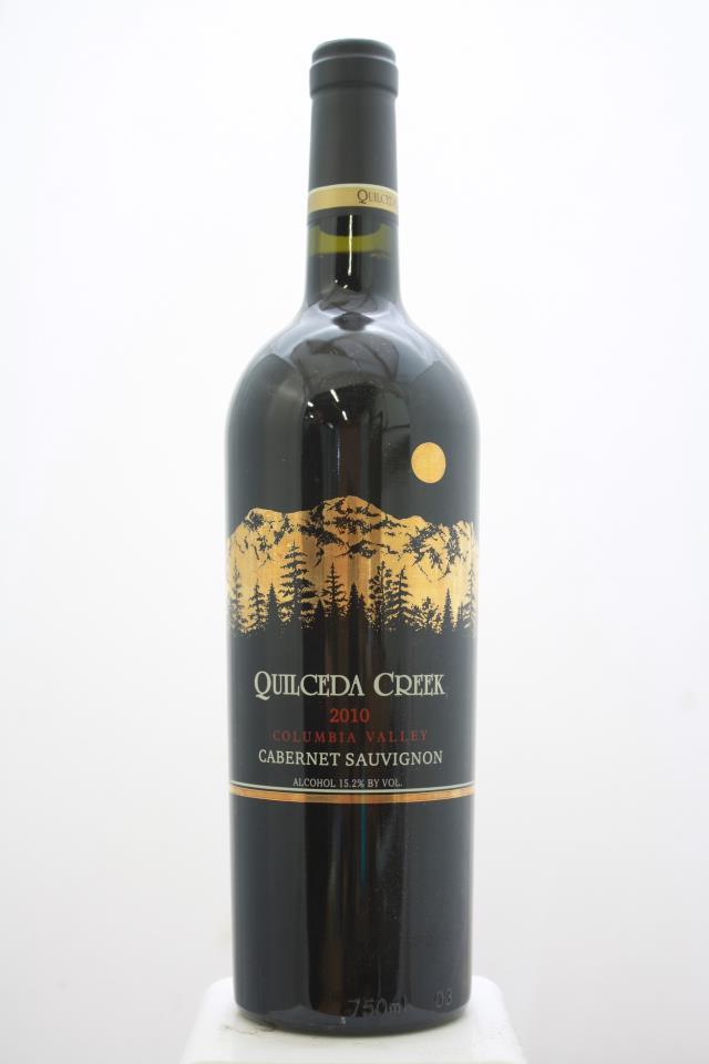Quilceda Creek Cabernet Sauvignon 2010