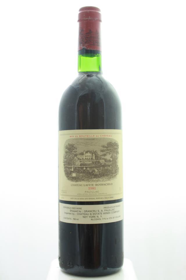 Lafite Rothschild 1981