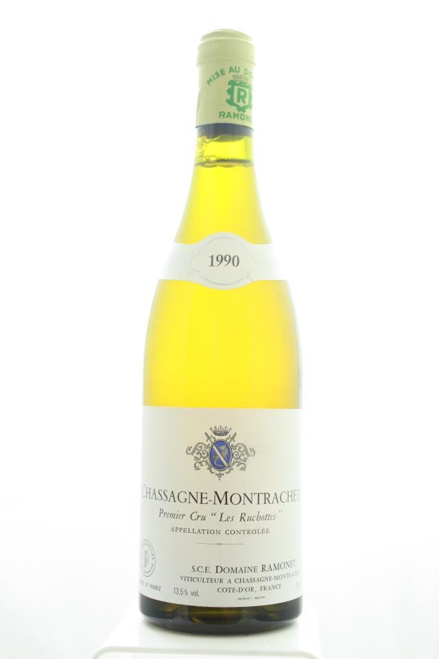 Ramonet Chassagne-Montrachet Les Ruchottes 1990