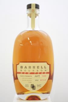 Barrell Straight Bourbon Whiskey New Year Cask Strength 2019