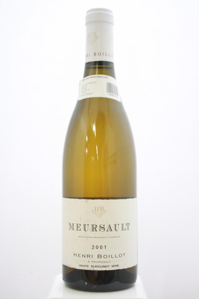 Henri Boillot Meursault 2001