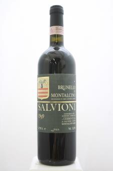 Salvioni Brunello di Montalcino Cerbaiola 1999