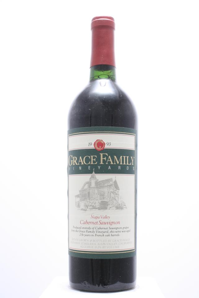 Grace Family Vineyards Cabernet Sauvignon Estate 1993