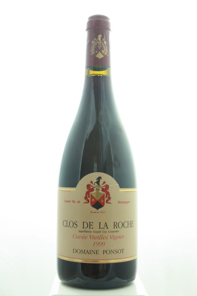 Domaine Ponsot Clos de la Roche Cuvée Vieilles Vignes 1999