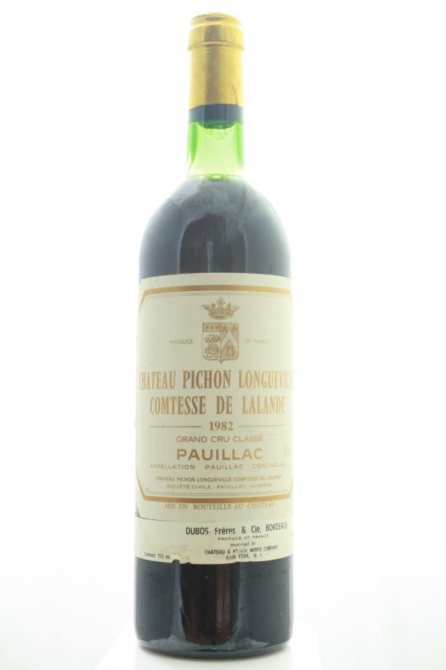 Pichon-Longueville Comtesse de Lalande 1982