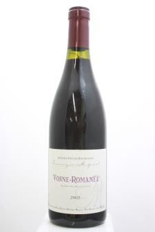 Dominique Mugneret Vosne-Romanée 2002