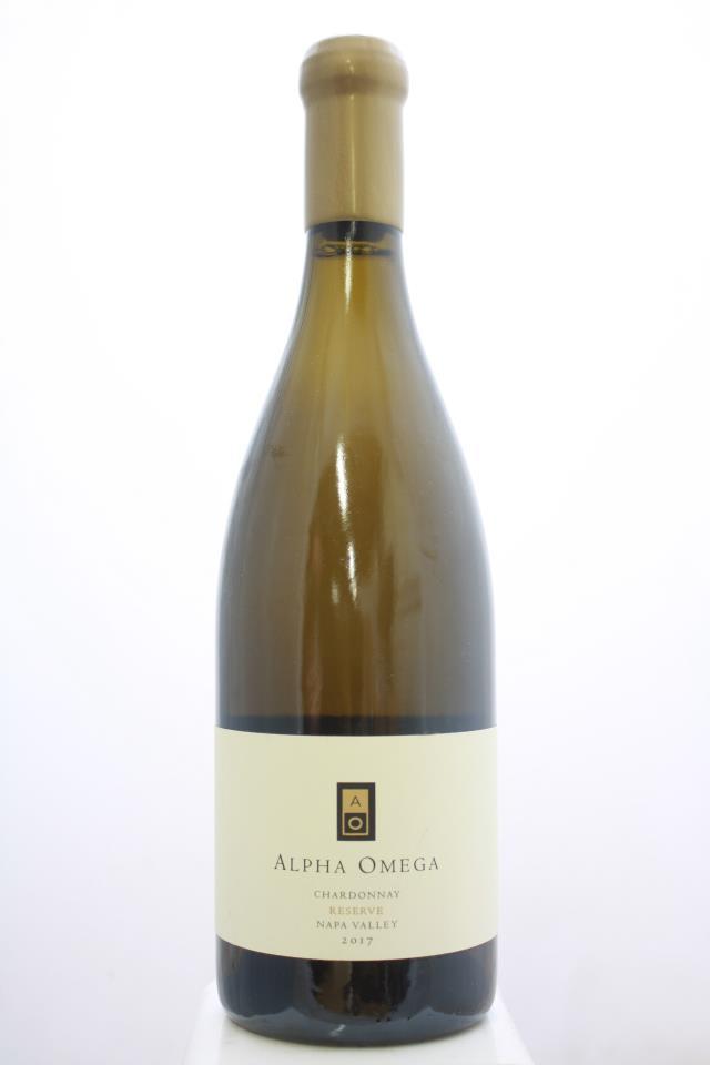 Alpha Omega Chardonnay Reserve 2017