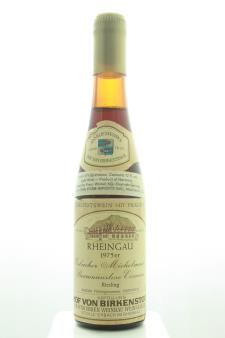 Hof Von Birkenstock Erbacher Michelmark Riesling Beerenauslese Eiswein #03 1975