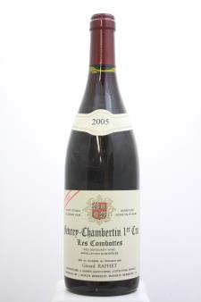 Gérard Raphet Gevrey-Chambertin Les Combottes Cuvée Unique 2005