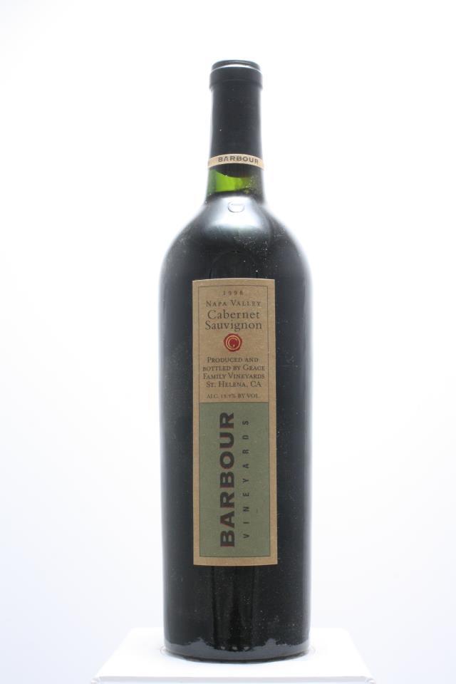Barbour Cabernet Sauvignon 1998