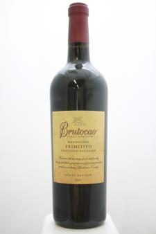 Brutocao Primitivo Contento Vineyard 2009