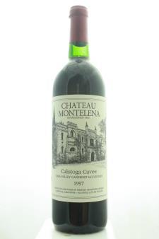 Chateau Montelena Cabernet Sauvignon Calistoga Cuvée 1997