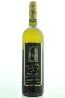 Omaka Springs Sauvignon Blanc 2001