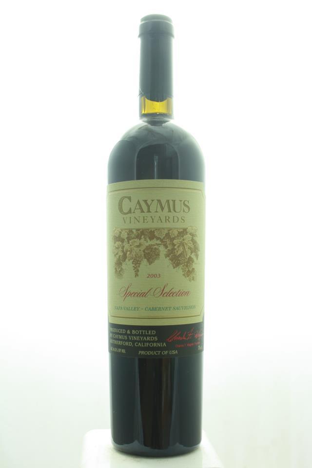 Caymus Cabernet Sauvignon Special Selection 2003