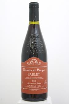 Domaine de Piaugier Côtes du Rhône Villages Sablet 2001