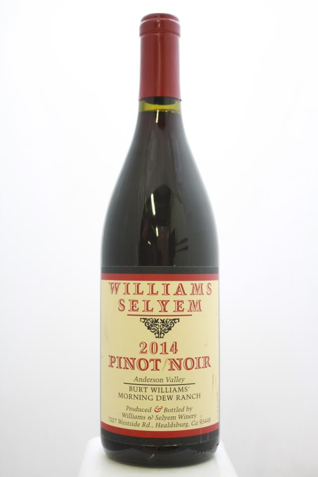 Williams Selyem Pinot Noir Burt Williams' Morning Dew Ranch  2014