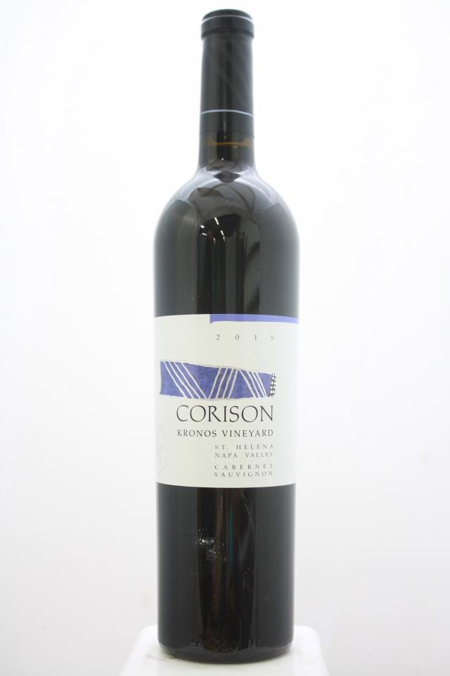 Corison Cabernet Sauvignon Kronos Vineyard 2015